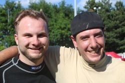 Patrick Flammer und Daniel Wittwer