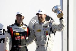 Podium ST: third place #17 RS1 Porsche Cayman: Nick Galante, Spencer Pumpelly