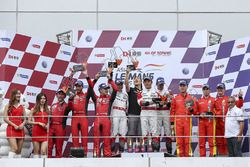Podium GT: 1. #31 Team Audi Korea, Audi R8 LMS GT3: Kyong Ouk You, Marchy Lee, Alex Yoong; 2. #3 DH
