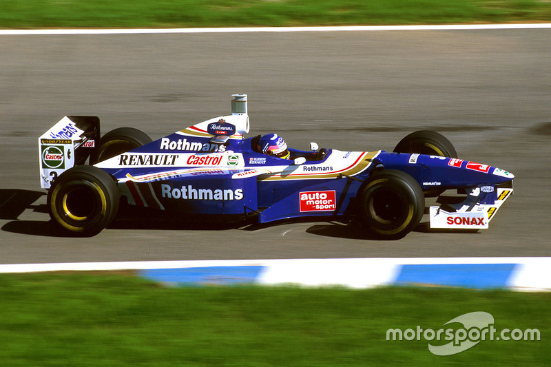 #3: Jacques Villeneuve, Williams, FW19