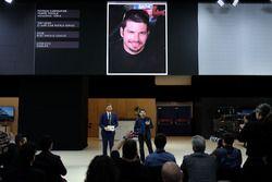 Patrick Carpentier bei der Jaguar-Pressekonferenz