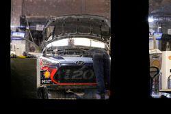 Le parc d'assistance Hyundai Motorsport