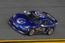 #88 GMG Racing Porsche Cayman GT4 MR: Carter Yeung, Andy Lee, Alec Udell