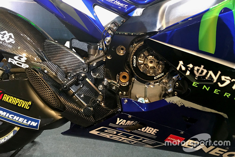 Yamaha YZR-M1 2017: Detail