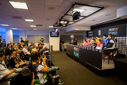 Press Conference with Sebastian Vettel, Travis Pastrana, Pascal Wehrlein, Tom Kristensen, Gabby Chav