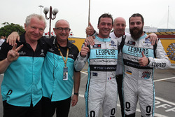 Jean-Karl Vernay, Leopard Racing, Volkswagen Golf GTI TCR and Stefano Comini, Leopard Racing Team Volkswagen Golf GTI