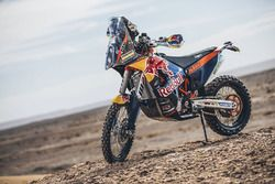 Motorrad von Red Bull KTM Factory Racing