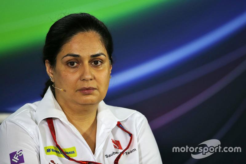 Monisha Kaltenborn, Team Principal Sauber F1