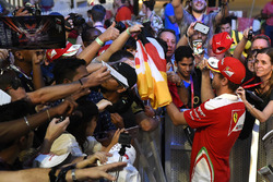 Sebastian Vettel, Ferrari avec des fans
