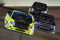 Matt Crafton, ThorSport Racing Toyota, Kyle Larson, Chevrolet