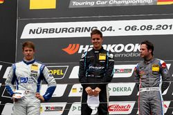 Podium: 1. Josh Files, Target Competition, Honda Civic Type R-TCR, 2. Mike Halder, Wolf-Power Racing