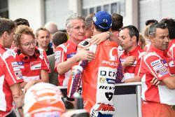 Danilo Petrucci, Pramac Racing, Paolo Ciabatti, Ducati sportief directeur na de kwalificatie