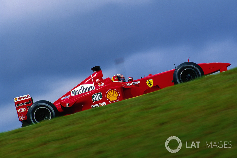 1999: Ferrari - 5º lugar, 2 vitórias, 44 pontos, 10 GPs