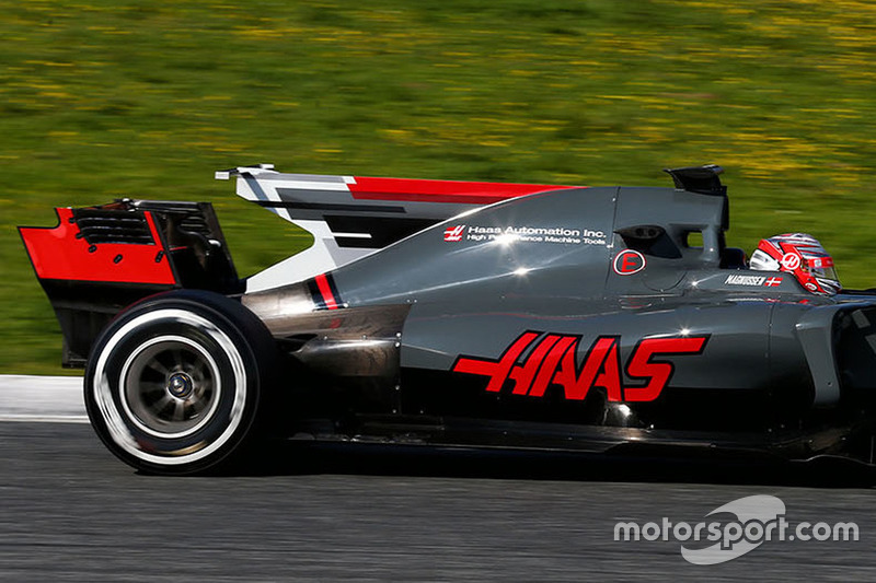 Kevin Magnussen, Haas VF-17 F1 Team