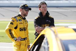 Matt Kenseth, Joe Gibbs Racing Toyota, crew chief Jason Radcliff