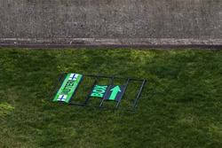 Pit board for Valtteri Bottas