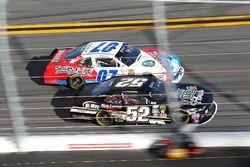 Joey Gase, Chevrolet; Ray Black Jr., Chevrolet