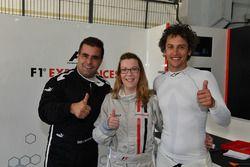 F1 Experiences 2-Seater passenger, Zsolt Baumgartner, F1 Experiences 2-Seater driver and Patrick Fri