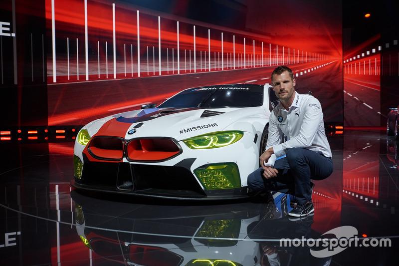 Martin Tomczyk with BMW M8 GTE
