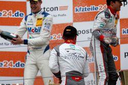 Podium: #1 Montaplast by Land-Motorsport, Audi R8 LMS: Connor De Phillippi, Christopher Mies