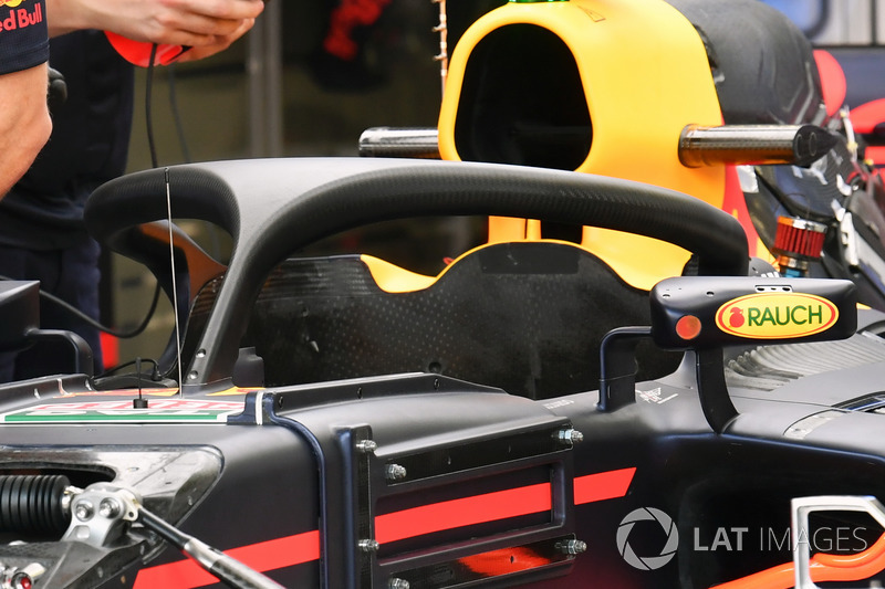 Red Bull Racing RB13, halo