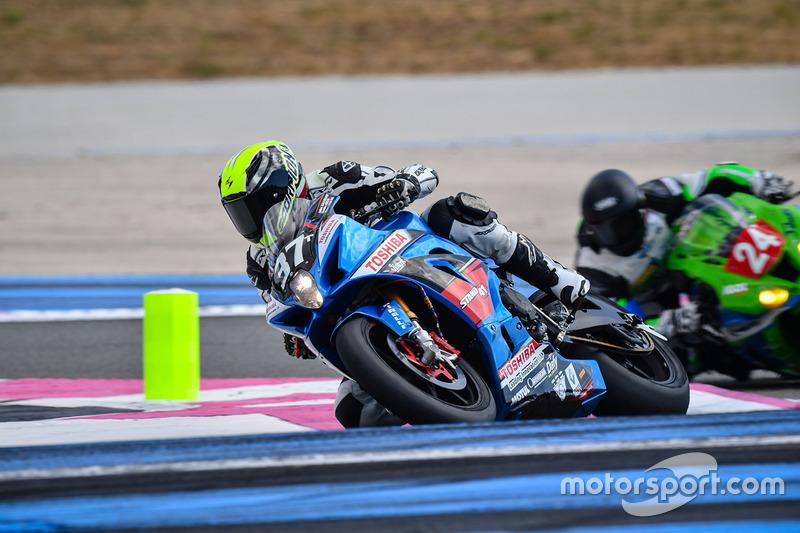 39. #37 Space Moto 37. Suzuki: Charles Roche, Julien Gallerand, Steve Langlois