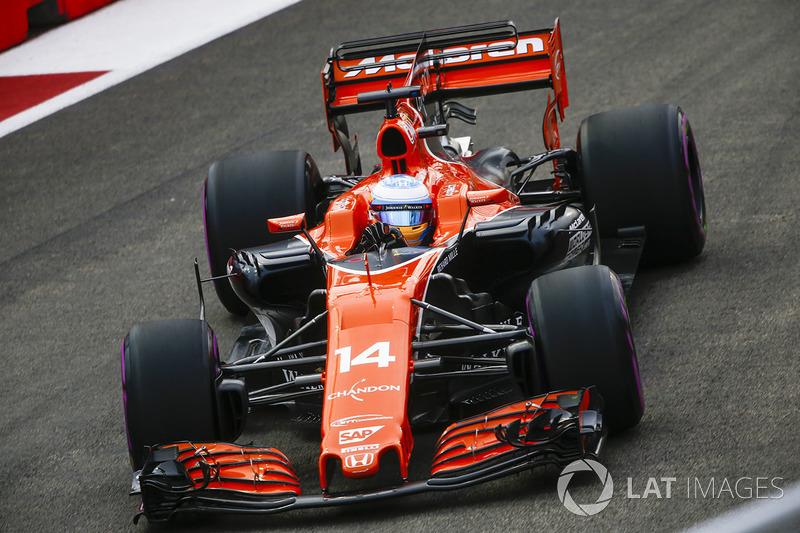 2017 : McLaren MCL32 - Honda