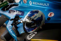Helmet of Nicolas Prost, Renault e.Dams