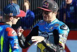 Maverick Viñales, Team Suzuki Ecstar MotoGP; Jack Miller, Estrella Galicia 0,0 Marc VDS
