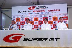 Präsentation: Die neuen Autos für die Super-GT-Serie 2017