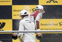 Podium: Marco Wittmann, BMW Team RMG, BMW M4 DTM and Jamie Green, Audi Sport Team Rosberg, Audi RS 5