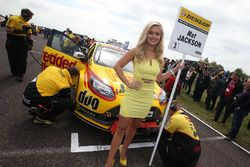 Grid girl, Mat Jackson, Motorbase Performance Ford Focus