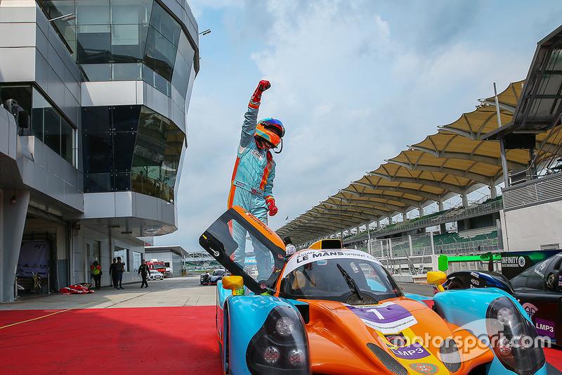 Race winner #1 Win Motorsport Ligier JSP3: William Lok, Davide Rizzo