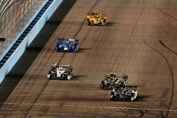 Josef Newgarden, Team Penske, Chevrolet; J.R. Hildebrand, Ed Carpenter Racing, Chevrolet; Helio Cast