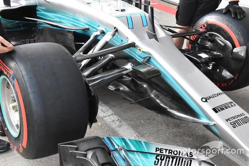 Mercedes AMG F1 F1 W08: Cape
