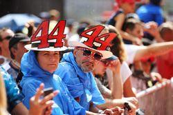 Fans van Lewis Hamilton, Mercedes AMG F1