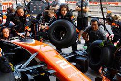 McLaren organiseert een volledig vrouwelijke pitstop