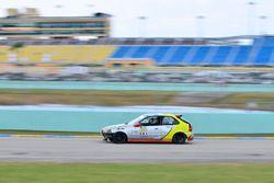 #60 MP4C Honda EK driven by Aramis Mello & Osiris Pena of AM Racing