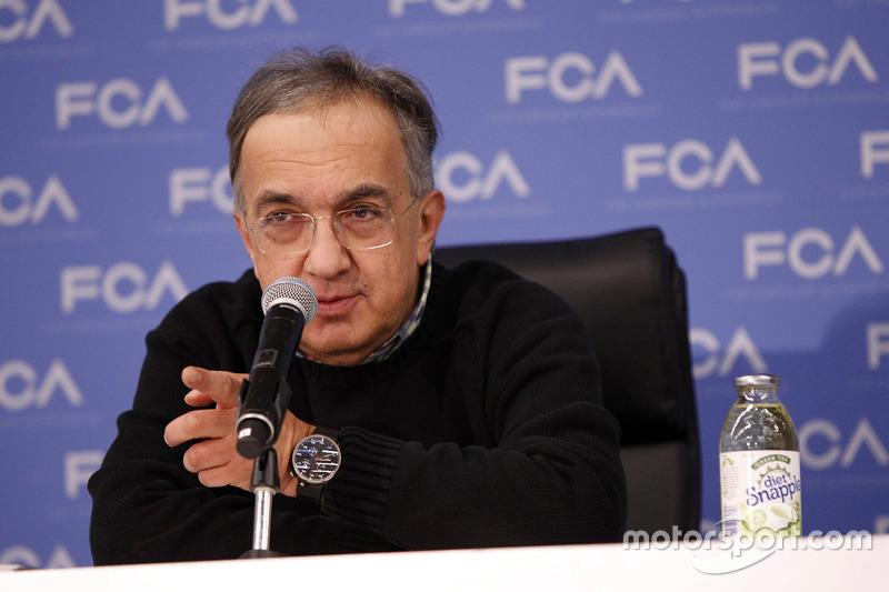 Sergio Marchionne, CEO, Fiat Chrysler Automobiles