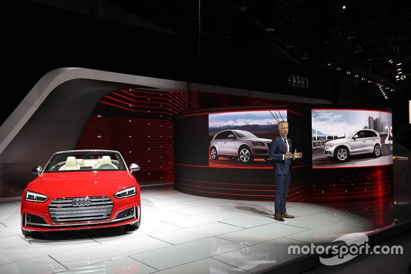 Scott Keogh President Audi Of America At North American - Audi of america