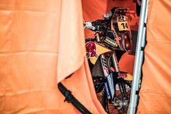 La moto de #14 Red Bull KTM Factory Racing: Sam Sunderland