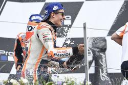 Podio: el ganador de la carrera, Marc Marquez, Repsol Honda Team