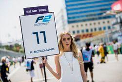 Gridgirl van Ralph Boschung, Campos Racing