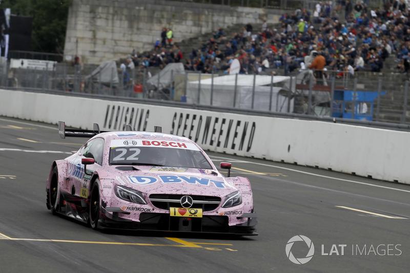 2. Lucas Auer, Mercedes-AMG Team HWA, Mercedes-AMG C63 DTM