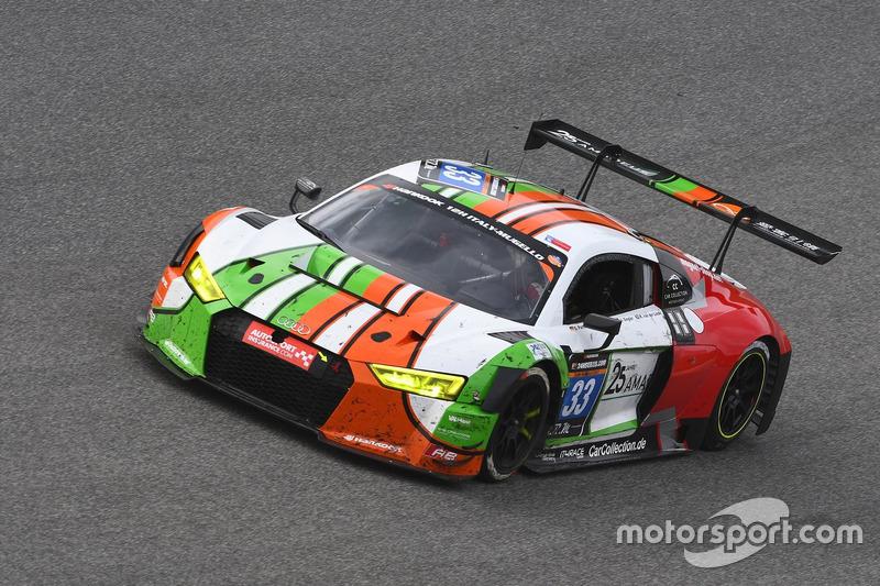 #33 Car Collection Motorsport, Audi R8 LMS: Dimitri Parhofer, Dirg Parhofer, Johannes Siegler, Kelvin van der Linde