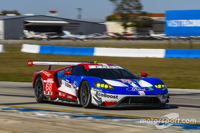 5. GTLM: #68 Ford Performance Chip Ganassi Racing, Ford GT
