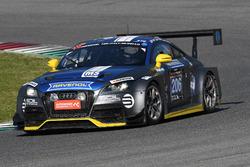 #206 LMS Engineering,Audi TTRS2: Stefan Wieninger, Chris Tiger, Ulrich Andree