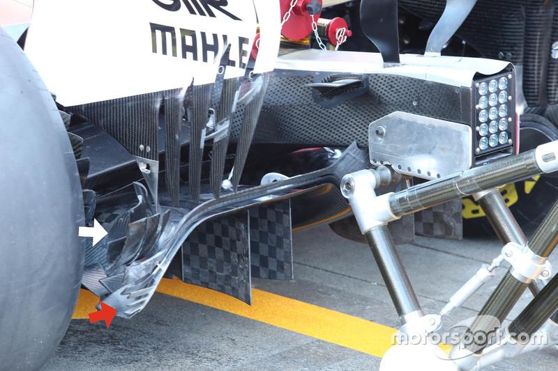 法拉利SF70H赛车扩散器