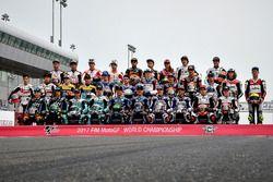 Les pilotes du championnat du monde Moto3