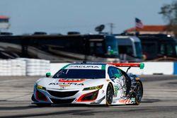 №93 Michael Shank Racing Acura NSX: Энди Лэлли, Кэтрин Легг, Марк Уилкинс